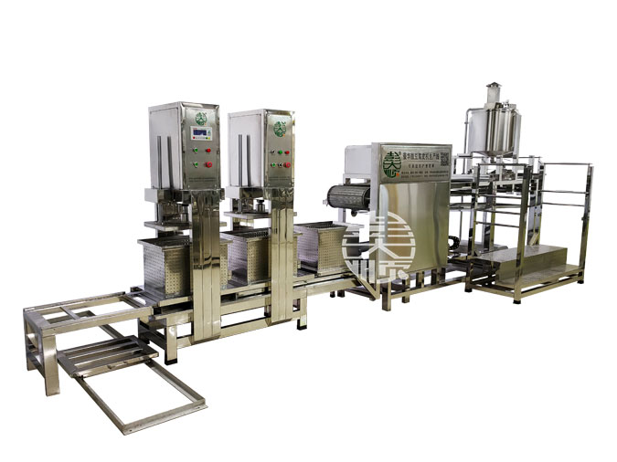 做豆腐皮的机器设备