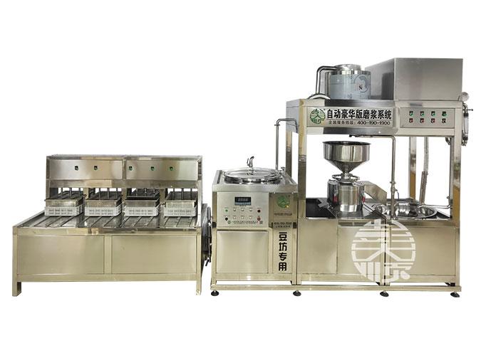 用豆腐机生产豆腐的工艺介绍