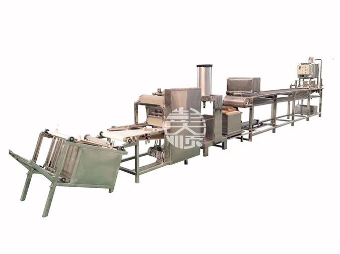 干豆腐机生产线的图片展示